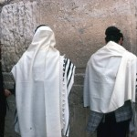 The most praying in Jerusalem - at the Wailing Wall.