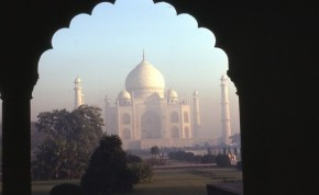 One of the most recognizable sights in India, the Taj Mahal!