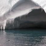 An ice cave