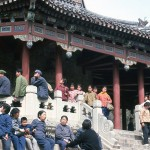 The Chinese love to visit their ancient sites.