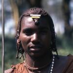 A Masai tribesman.