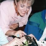 Ann ate Batfish Soup in Micronesia.